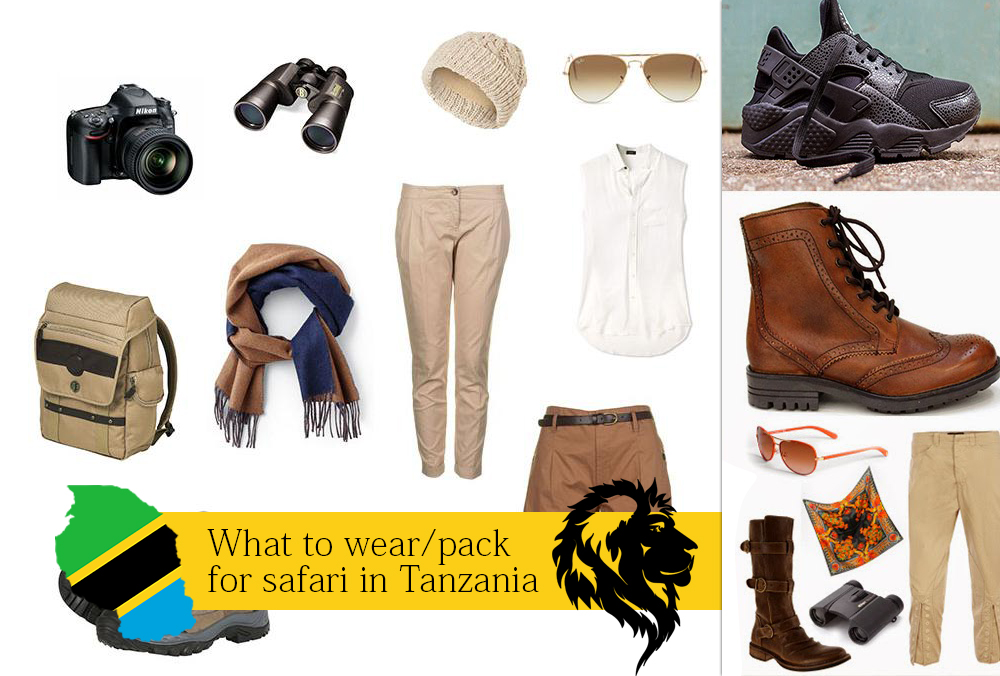 What to wear/pack for safari in Tanzania