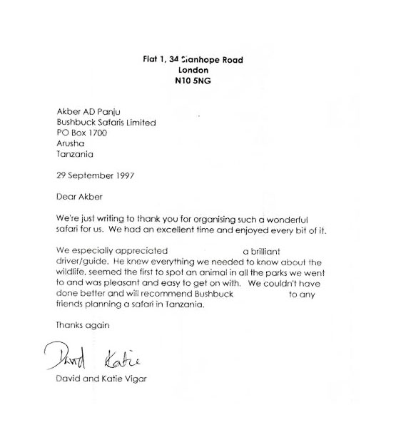 Letters of recommendation from special guests letter7 spiritdancerdesigns Gallery
